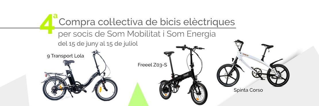 Portada campanya bicis elèctriques