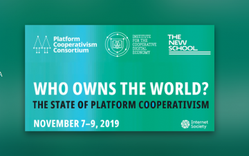 Portada the state of platform cooperativism