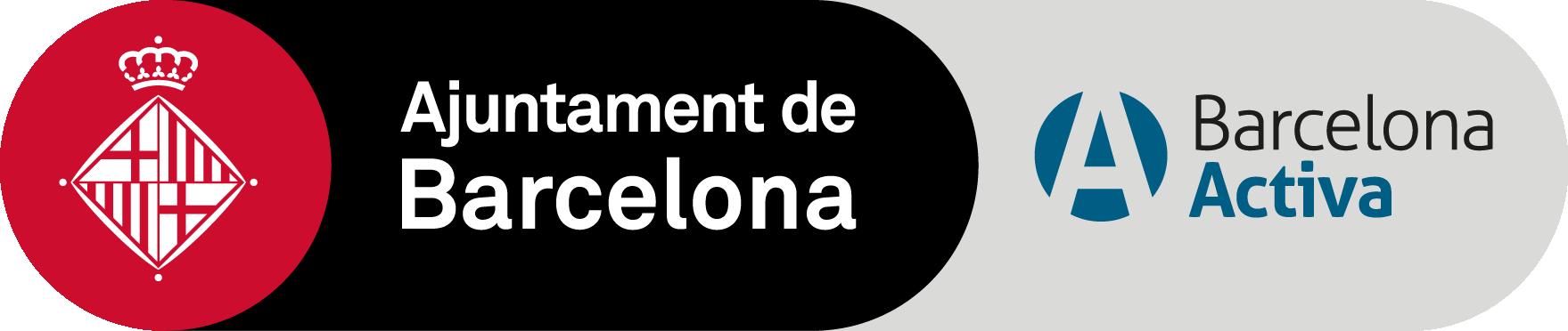 Logo ajuntament Barcelona i Barcelona Activa
