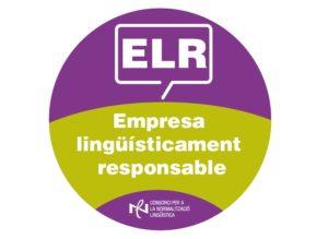 Logo empresa lingüística responsable