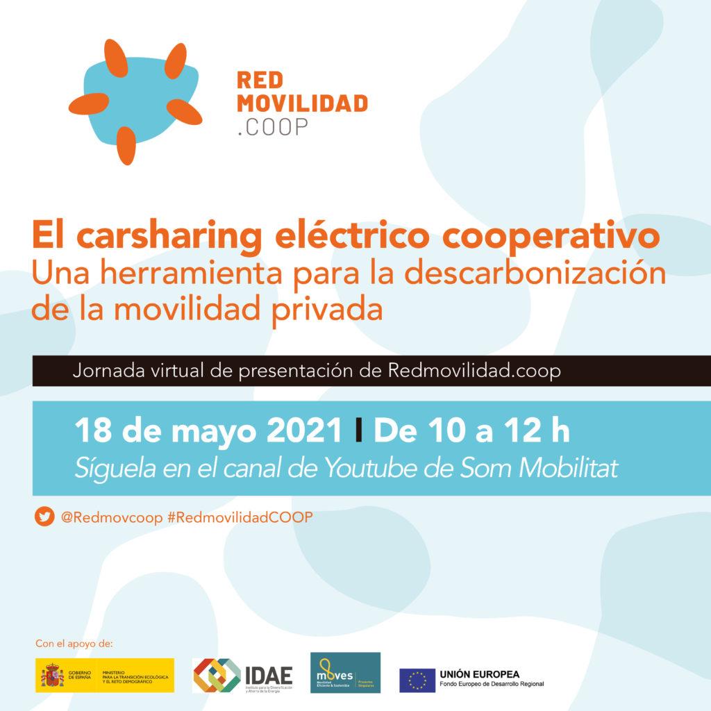 Cartell de la Jornada de Presentació de Redmovilidad.coop